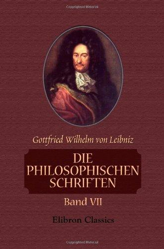 Download Die philosophischen Schriften: Band VII (German Edition) pdf