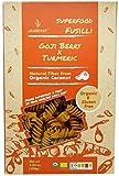 Organic Jasberry Fusilli Rice Pasta w/Gogi Berry and Tumeric 8oz (pack of 6)