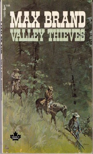 book cover of Valley Thieves
