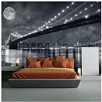 Photo Wallpaper Jerusalem At Night Giant Wall Decor Paper Poster For Bedroom