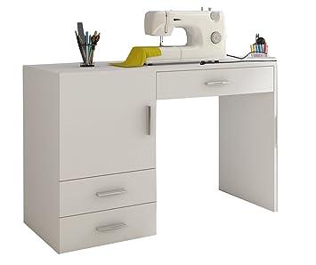 Nähmaschinentisch amazon de beco nähmaschinentisch schreibtisch arbeitstisch büro