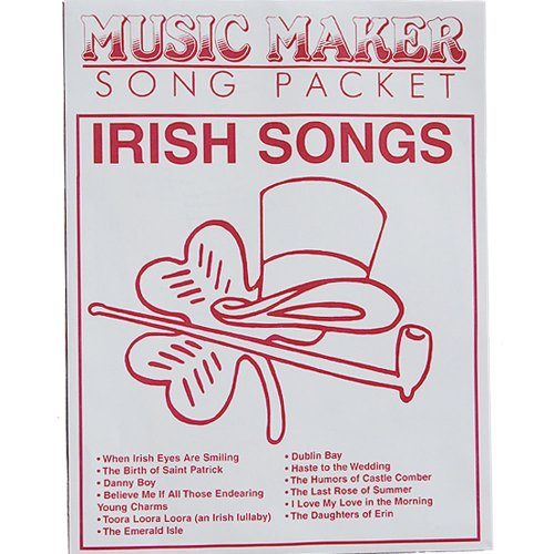 Irish music for the Music Maker by European Epressions - Music Maker Song Sheets