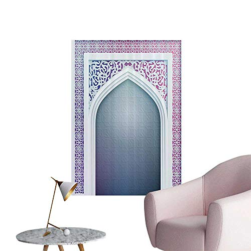 32 Door Arch Decorative - Wall Decorative ld shi Ottoman Arch Door Surrounded by Digital Featured Sacred Geometry Pictures Wall Art Painting,20