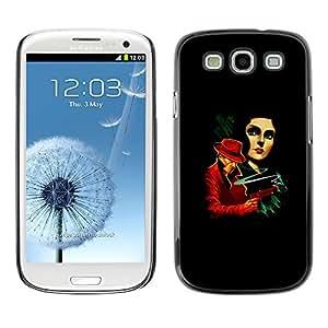 A-type Arte & diseño plástico duro Fundas Cover Cubre Hard Case Cover para Samsung Galaxy S3 (La vendimia crimen Posters)