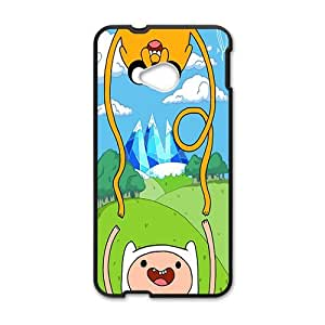 2015 popular Aadventure time Case Cover For HTC M7