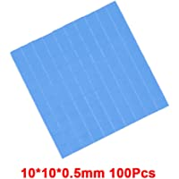 RGEEK Thermal Pad GPU CPU Heatsink Cooling Conductive Silicone Pad 10mm*10mm*0.5mm x 100pcs