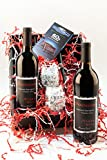 Eternal Flame Cabernet Wine and Chocolate Gift Set, 2 x 750 mL