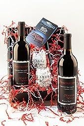 Eternal Flame Wine Gift Set, 2 x 750 mL