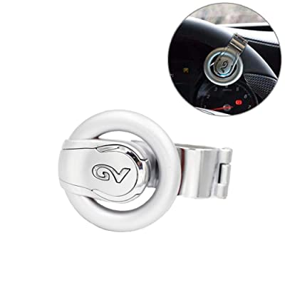 Gvbest Steering Wheel Spinner Suicide Power Handle Universal Steering Assist Knob,Obstacle Control Steering Ball Suitable for Cars: Automotive