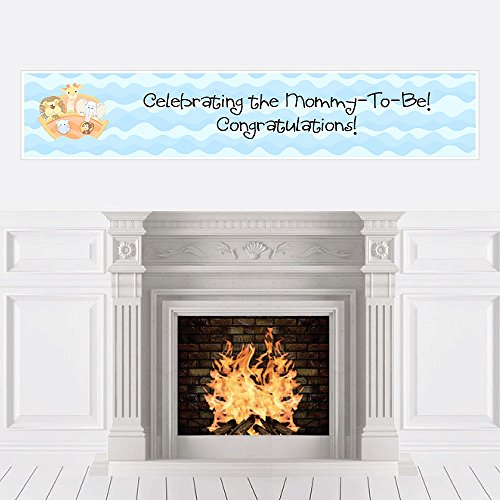 Noah's Ark - Baby Shower Decorations Party Banner by Big Dot of Happiness