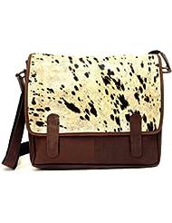 Saddleback Vintage Leather messenger bag for men Satchel Laptop Briefcase for Women