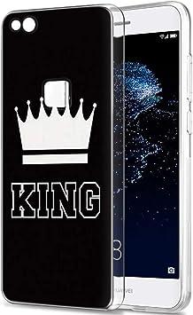 Yoedge Funda Huawei P10 Lite, Silicona Ultra Slim Cárcasa con King ...
