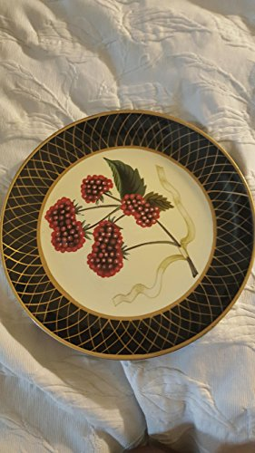 Decorative raspberry plate