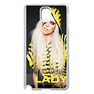 Lady Gaga Samsung Galaxy Note 3 Cell Phone Case White Delicate gift JIS_434201