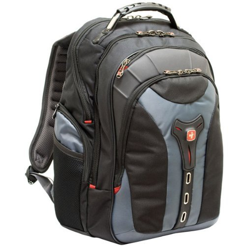 Swissgear - 17'' Gray Notebook Backpack ''Product Category: Notebook Cases & Bags/Backpacks''