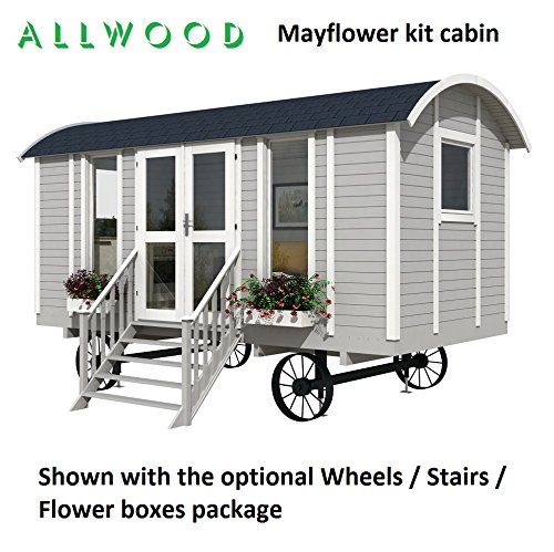 Allwood Mayflower | 117 SQF Garden House, Kit Cabin