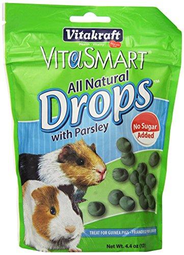 Vitakraft VitaSmart No Sugar Added Drops with Parsley for Guinea Pigs