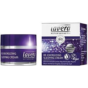 lavera Crème de Nuit Re-energizing Sleeping Cream – Vegan – Cosmétiques naturels – Ingrédients végétaux bio – 100…