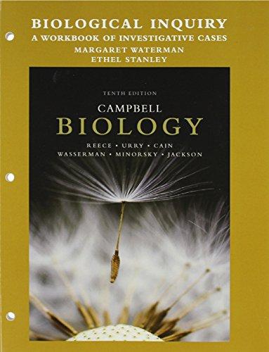 Biological Inquiry: A Workbook of Investigative Cases