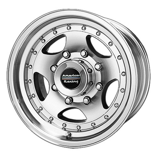 - American Racing AR23 Wheel with Clear Coat Machined (15x8