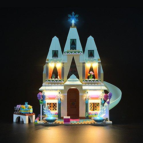 Juego de luces LIGHTAILING para bloques de construcción (Disney Frozen Arendelle Castle Celebration) - Kit de luces LED Compatible con Lego 41068 (NO incluido el modelo)