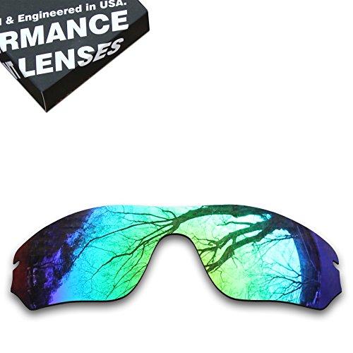 ToughAsNails Polarized Lens Replacement for Oakley Radar Edge Sunglass - More (Edge Replacement Lenses)
