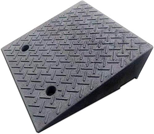 ヘビー縁石スロープラバーノンスリップカースレッショルドスロープガレージ駐車場のステップスロープより良い耐荷重 段差プレート・スロープ