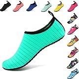 VIFUUR Water Sports Unisex/Kids Shoes Green - 1-2 M US Little Kid (32-33)