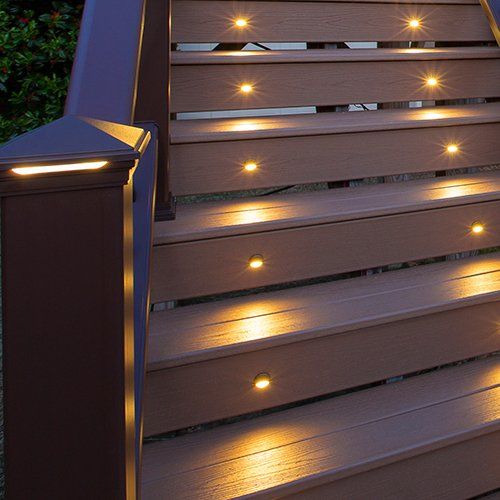 Awesome Amazon.com: LED Stair Light  Charcoal Black, (4  Pack), BKRISERLED4PKC:  Home Improvement