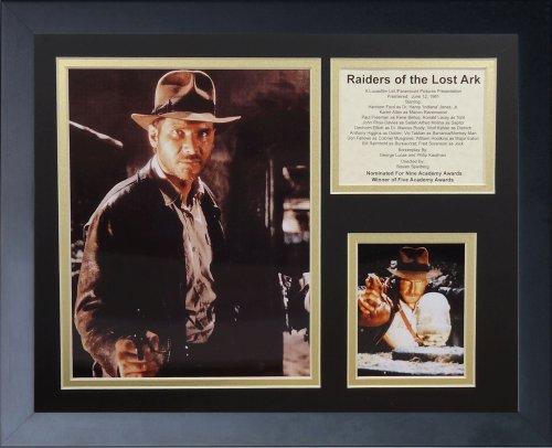 Legends Never Die Indiana Jones Raiders of The Lost Ark Collage Photo Frame, 11