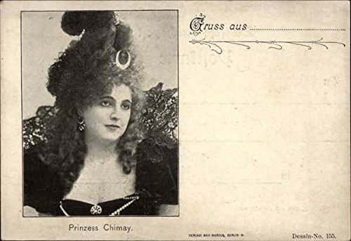 prinzess-chimay-royalty-original-vintage-postcard