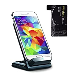Kosee Qi Smart Wireless Charging Cradle Stand for Samsung Galaxy S5