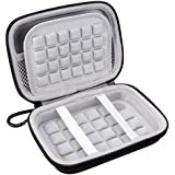 Lacdo Hard EVA Shockproof Carrying Case Bag for Seagate Expansion, Wireless Plus / WD My Passport Wireless / Toshiba Canvio Basics / Transcend StoreJet M3, Portable External Hard Drive (Large Size)
