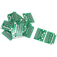 uxcell 20pcs FPC/FFC DIP24 0.5mm 1.0mm Double Sided Circuit Board PCB Adapter