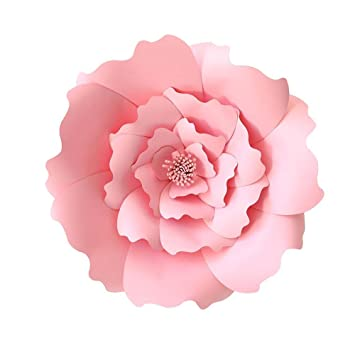 Kobwa Flores De Papel Grandes Diy Artesanias Papel Flores