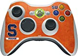 Syracuse University Xbox 360 Wireless Controller Skin - Syracuse Distressed Vinyl Decal Skin For Your Xbox 360 Wireless Controller