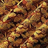 Chocolate Transfer Sheet Butterflies Pattern 2 Sheets Per Pack