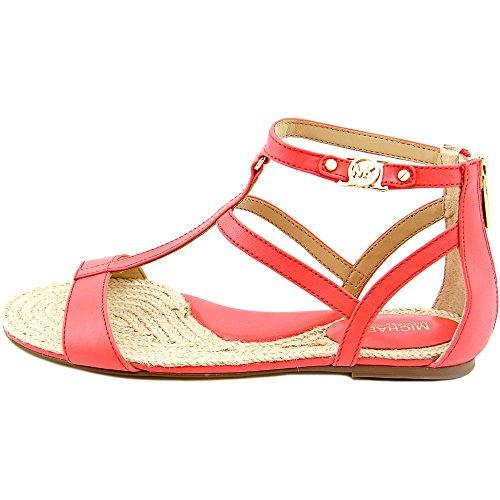 Michael Michael Kors Bria Flat Sandal Donna Pelle Sandalo Gladiatore
