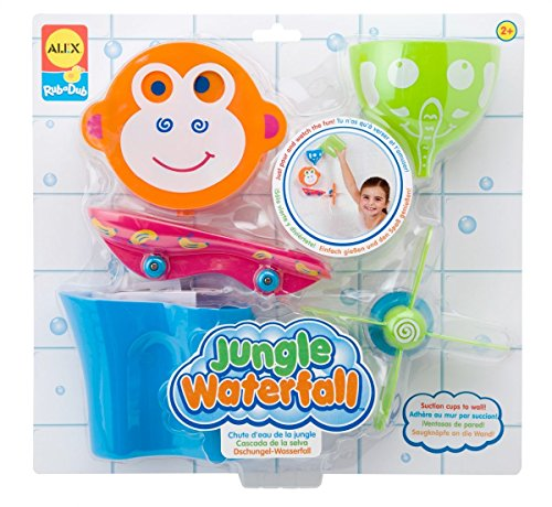 ALEX Toys Rub a Dub Jungle Waterfall, color may (Watch Baby Seal)