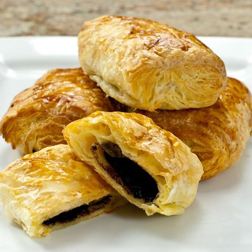 Chocolate Croissants (Pain au Chocolat) - 3.25 oz, Unbaked - 1 case - 75 count by Gourmet Food World