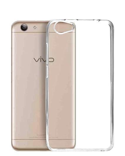 super popular cff1c 2d499 Ecellstreet ECS Transparent Soft Back Case Cover For Vivo Y53