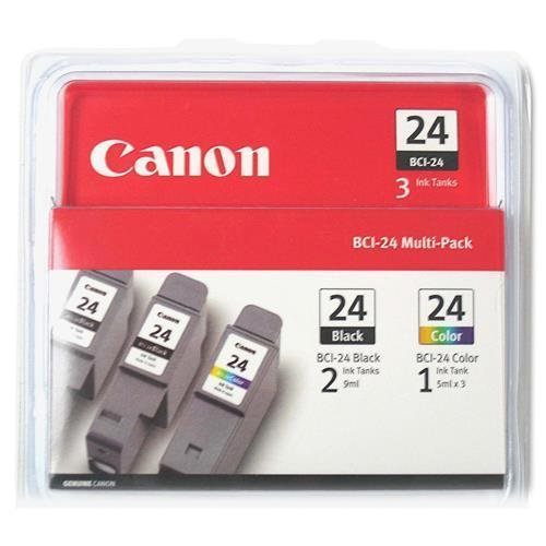 BCI243PK2BK Canon BCI243PK2BK Ink Tank Cartridges - Black, Cyan, Magenta, Yellow - Inkjet - 500 Page - 3 / Pack