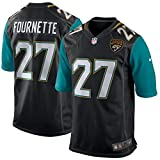 Leonard Fournette Jacksonville Jaguars Nike Black Game Jersey - Men's Medium