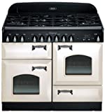 """ALEG44-DFCD-IVY 44"""" Pro-Style Dual Fuel Range with 2.4 cu. ft. Convection Oven 2.2 cu. ft. 7-Mode Multifunction Oven Broiling Oven Storage Drawer Cathedral Doors in"""
