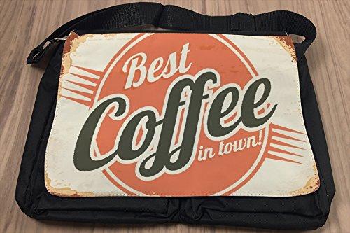 Borsa Tracolla Cucina Caffè Stampato