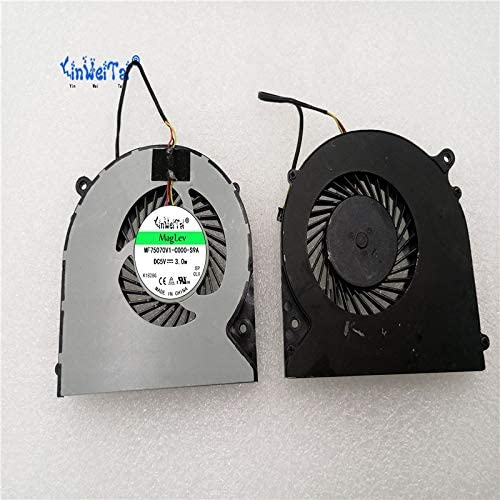 New CPU Cooling Fan For CLEVO N350D N350DV N350DW 6-31-N5502-102 FCN FH22 DFS551205WQ0T
