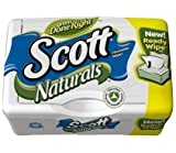 Scott Naturals with Aloe Vera Flushable Moist Wipes,51ct (Pack of 10)