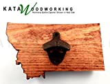 Montana Shaped Wood Cut-out Bottle Opener – Wall Mount – Handmade Review