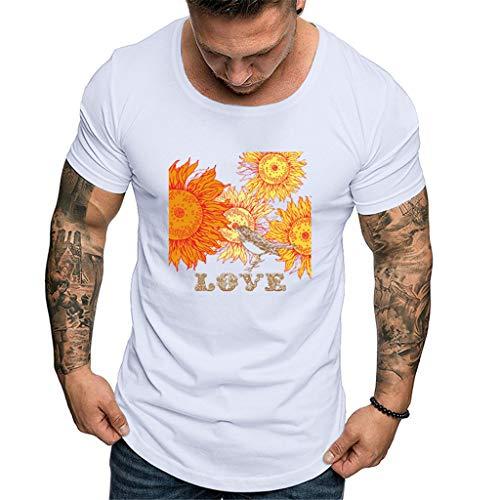 XQXCL Men's Tshirts Casual T-Shirts Summer Tee Shirts Slim Short Sleeves Active Sport Tops Fashion Printed Work Shirts - Plaid Highland Ladies Pant