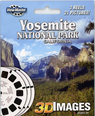 ViewMaster 3Reel Set - Yosemite National Park, California - 21 3D Images by 3Dstereo ViewMaster